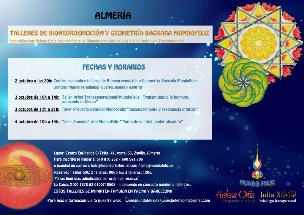 Cartel talleres de octubre Almería DEFINITIVO OK